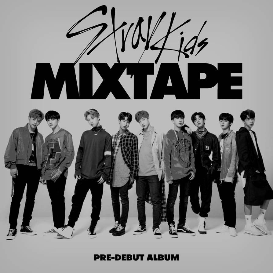 STRAY KIDS MIXTAPE / PRE-DEBUT ALBUM album cover by LEAlbum