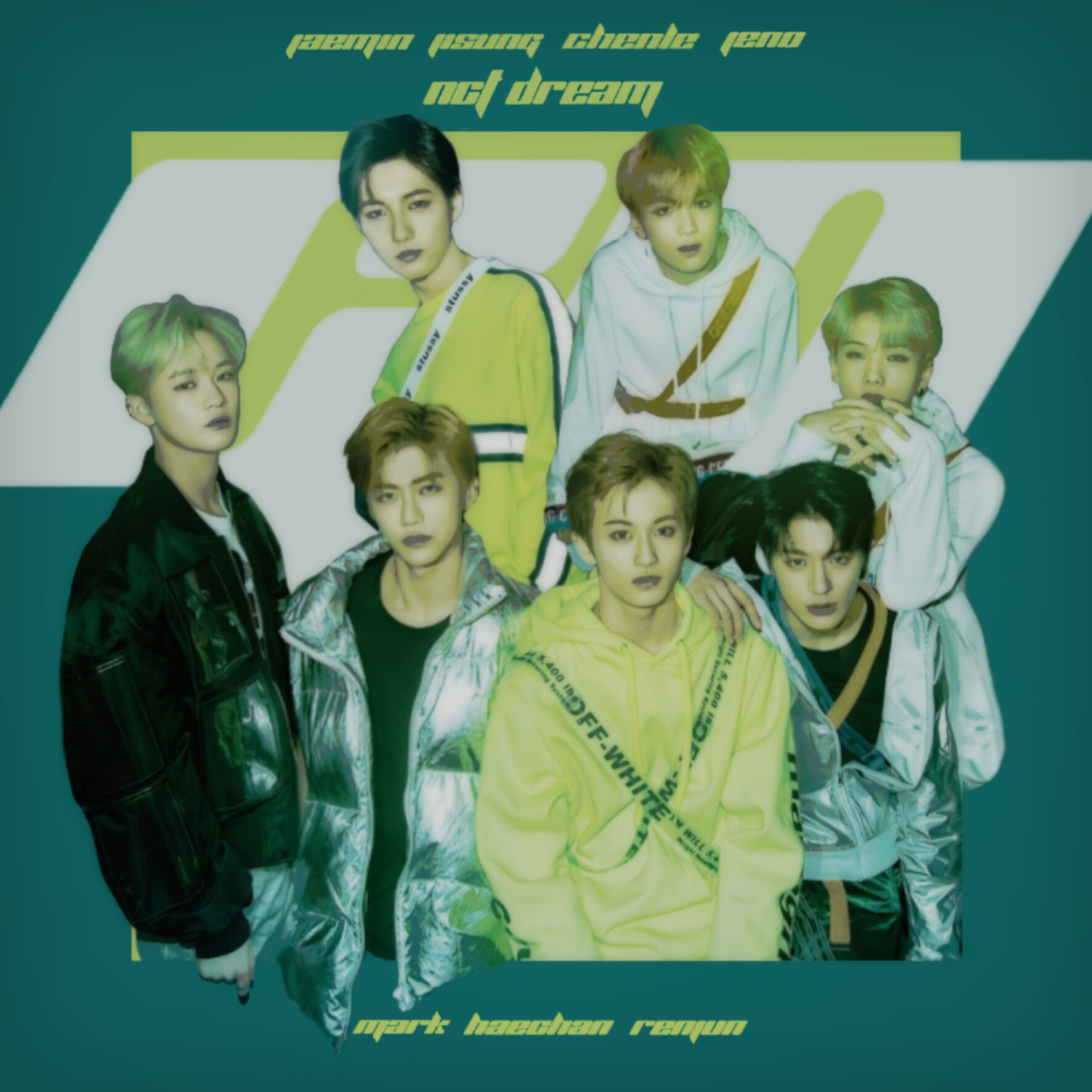 NCT DREAM GO / NCT 2018 EMPATHY album cover by LEAlbum on