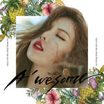 HYUNA WOLF / A'WESOME album cover