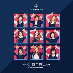TWICE SIGNAL / THE 4TH MINI ALBUM album cover