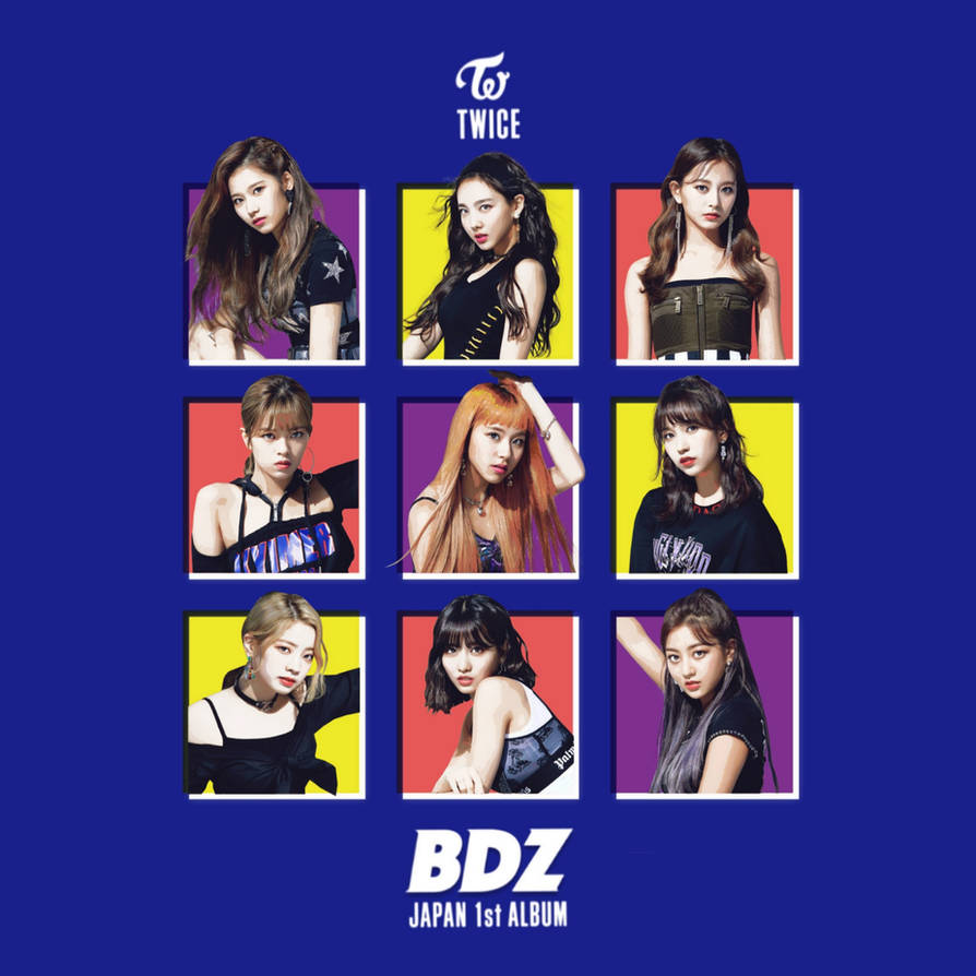 TWICE BDZ / 1ST JAPAN ALBUM album cover by LEAlbum on DeviantArt