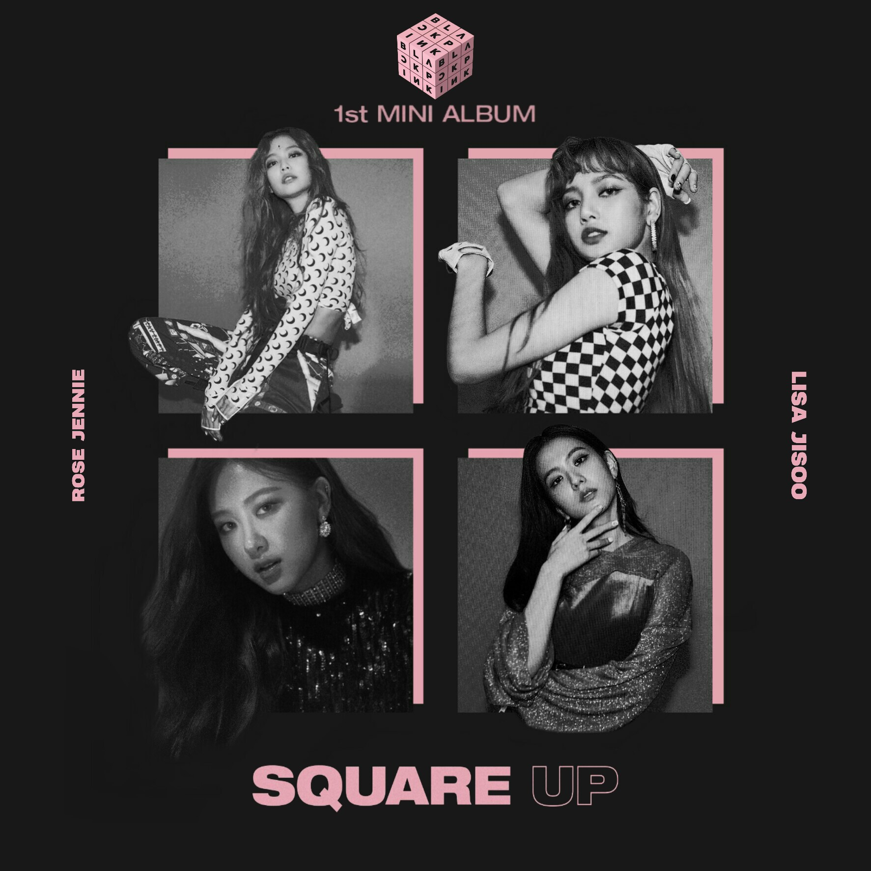Blackpink Square Up Album Cover 1 By Lealbum On Deviantart