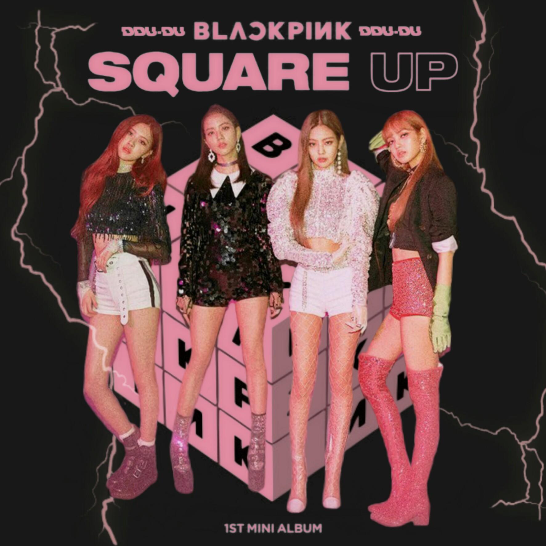 Blackpink Ddu Du Ddu Du Square Up Album Cover 3 By