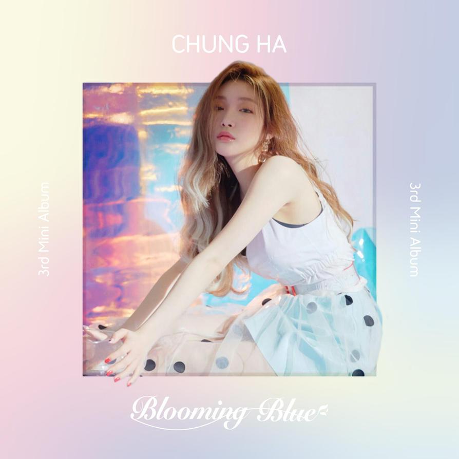 Download Lagu Thanku Next: CHUNGHA LOVE U / BLOOMING BLUE Album Cover By LEAlbum On