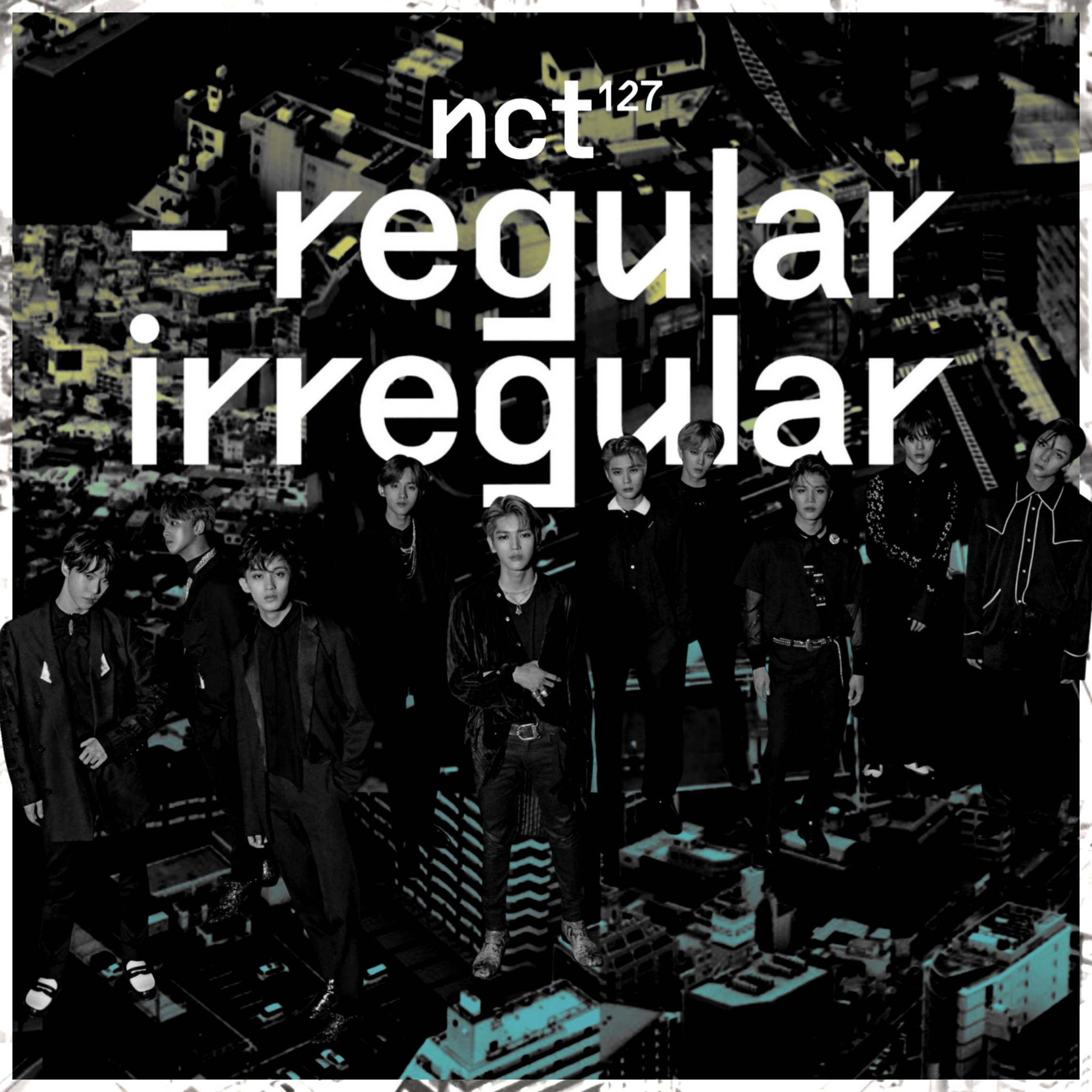 NCT 127 REGULAR-IRREGULAR / THE 1ST ALBUM cover by LEAlbum