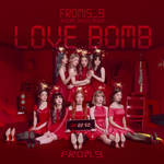 FROMIS_9 LOVE BOMB / FROM.9 album cover