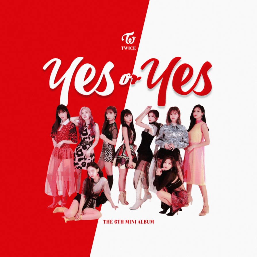 TWICE YES OR YES / THE 6TH MINI ALBUM album cover by LEAlbum