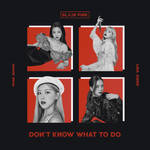 BLACKPINK DON'T KNOW WHAT TO DO album cover