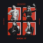 BLACKPINK KICK IT album cover