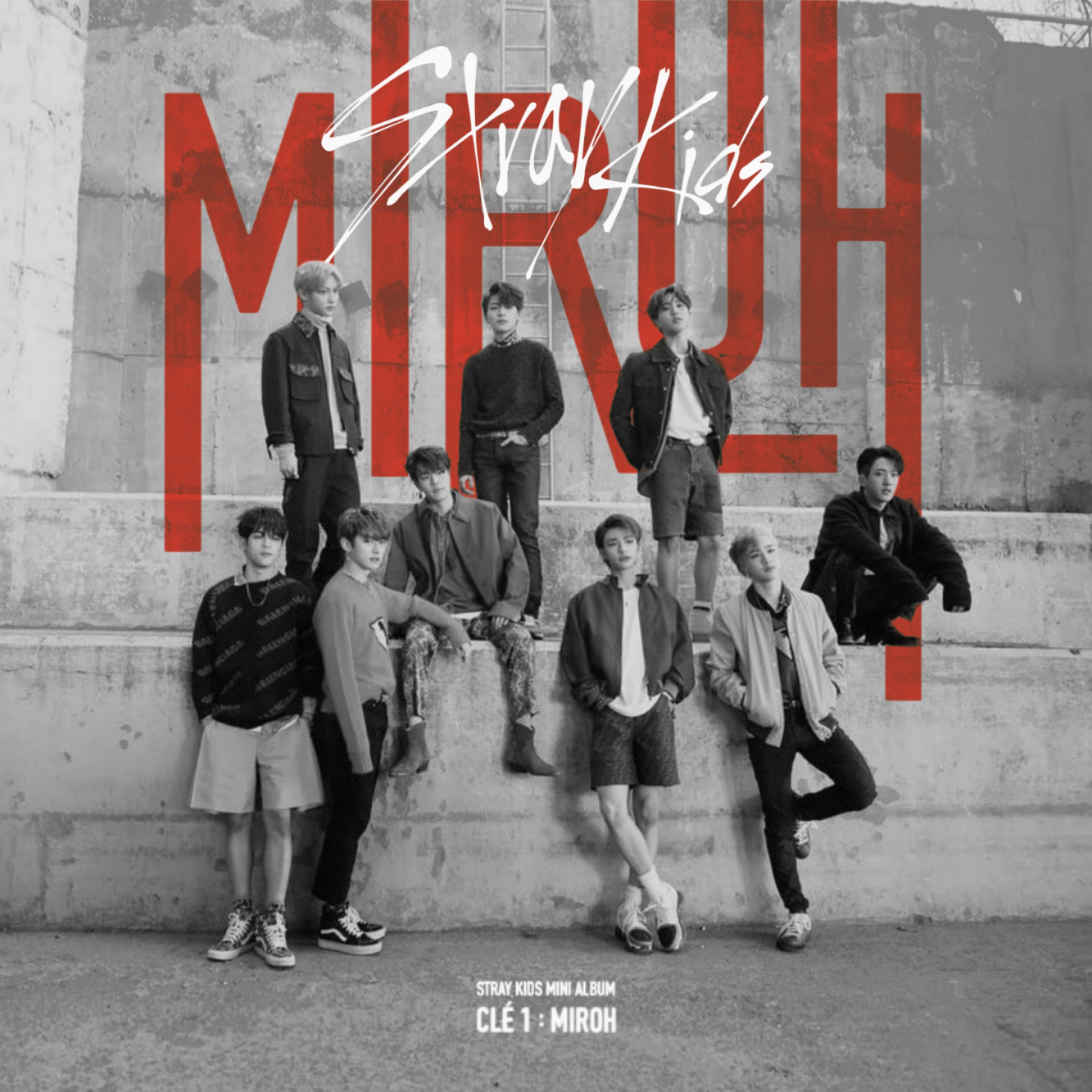 STRAY KIDS CLE 1 : MIROH album cover by LEAlbum on DeviantArt