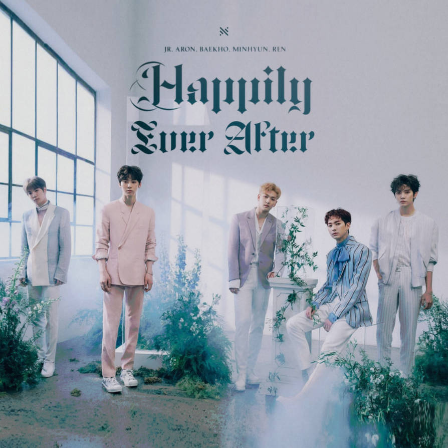 NUEST BET HAPPILY EVER AFTER Album Cover By LEAlbum