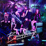 TWICE BREAKTHROUGH / JAPAN SINGLE album cover