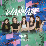 ITZY WANNABE / IT'Z ME album cover