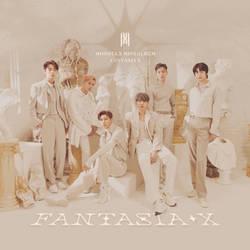 monsta x fantasia   fantasia x album cover by lealbum ddze86x