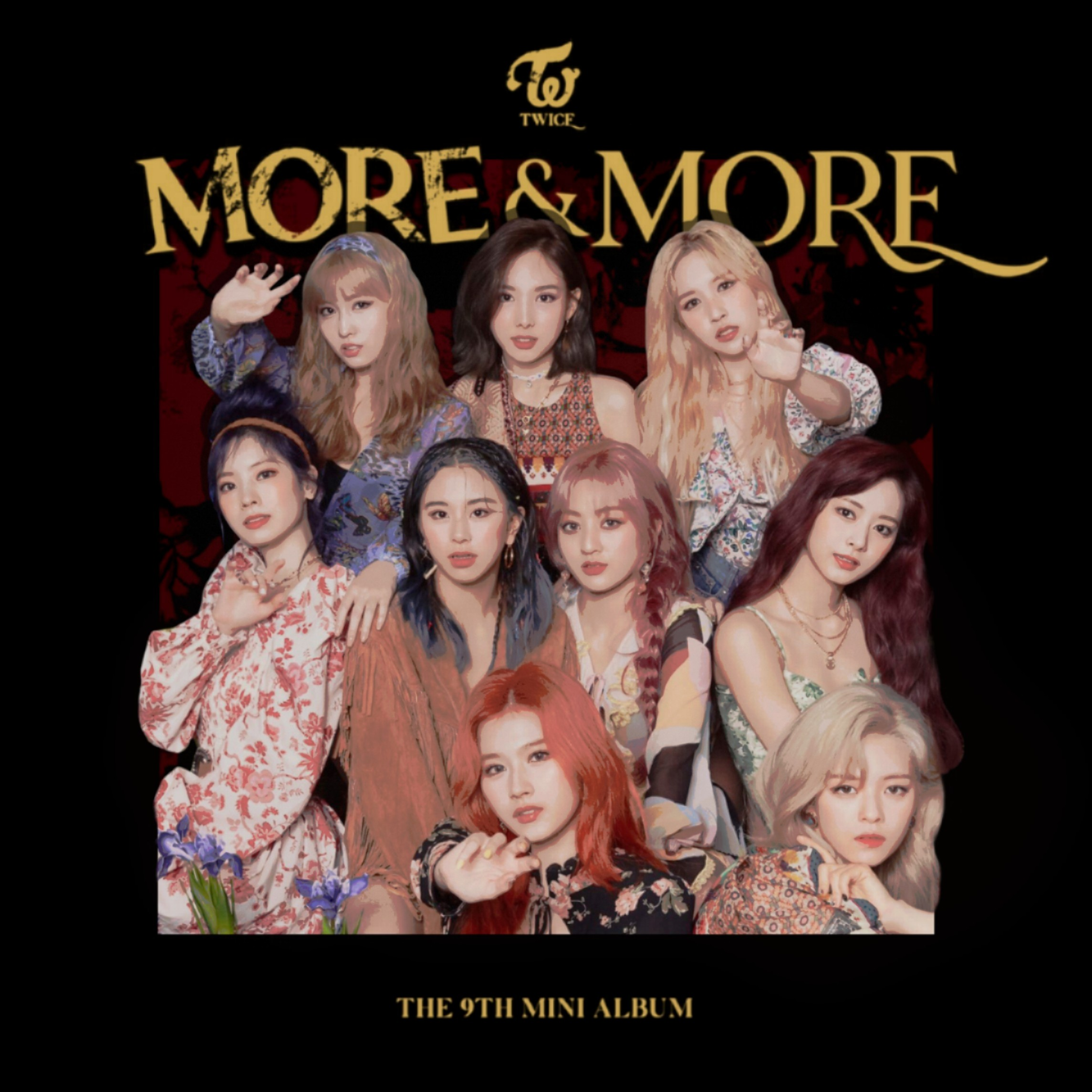 TWICE MORE AND MORE / THE 9TH MINI ALBUM cover by LEAlbum on DeviantArt