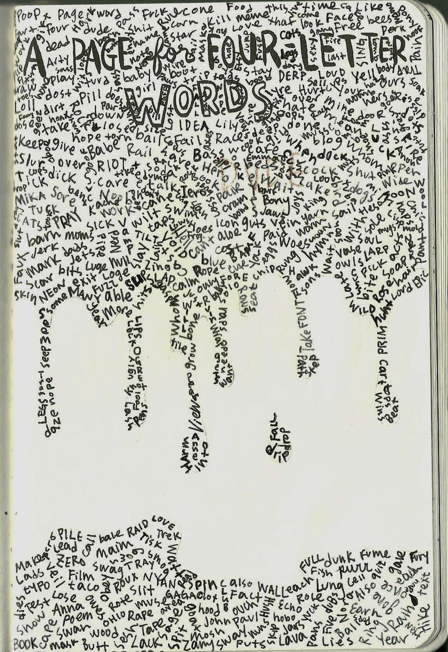 Page of 4 Letter Words by breadfairy on DeviantArt Kn7boGMt