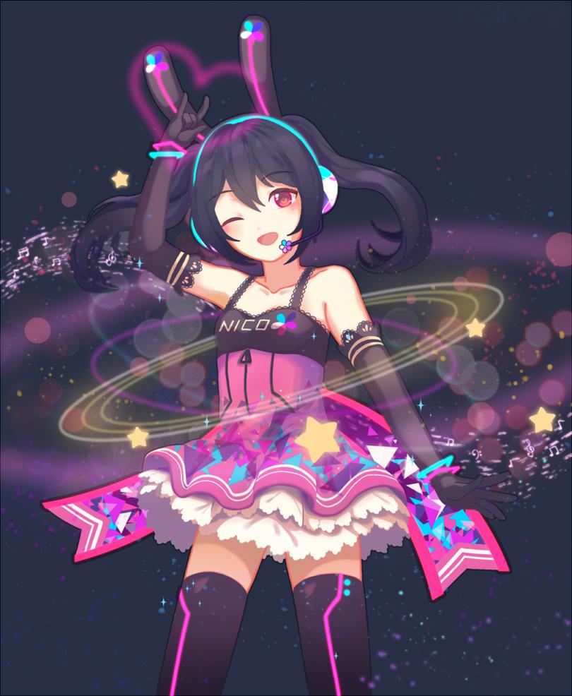 Cyber Nico Nico Nii Yazawa Nico Nico by Rainry