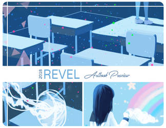 REVEL (Charity) Art Book Preview