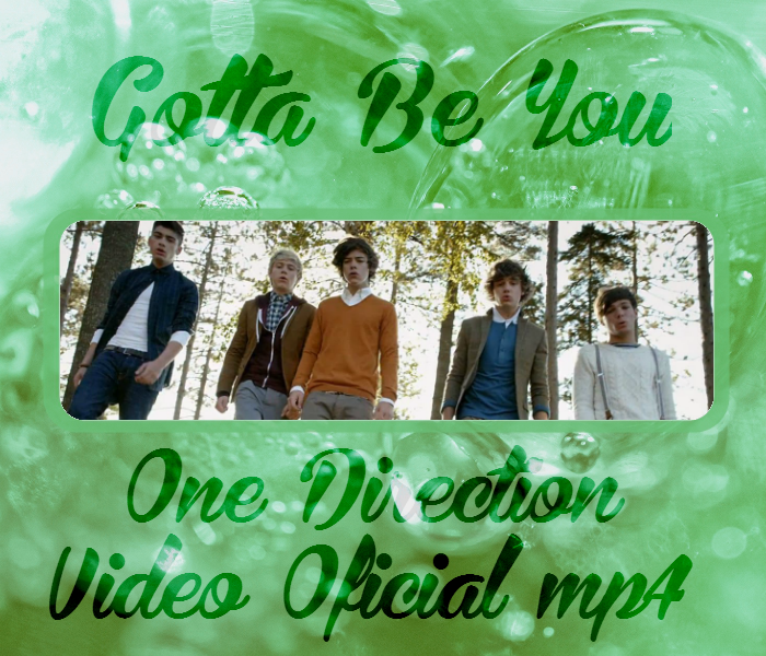 One Direction - Gotta Be You Video by Panditha8 on DeviantArt