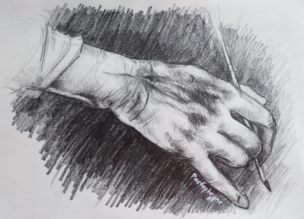 Hand study 2 by Paedophryne