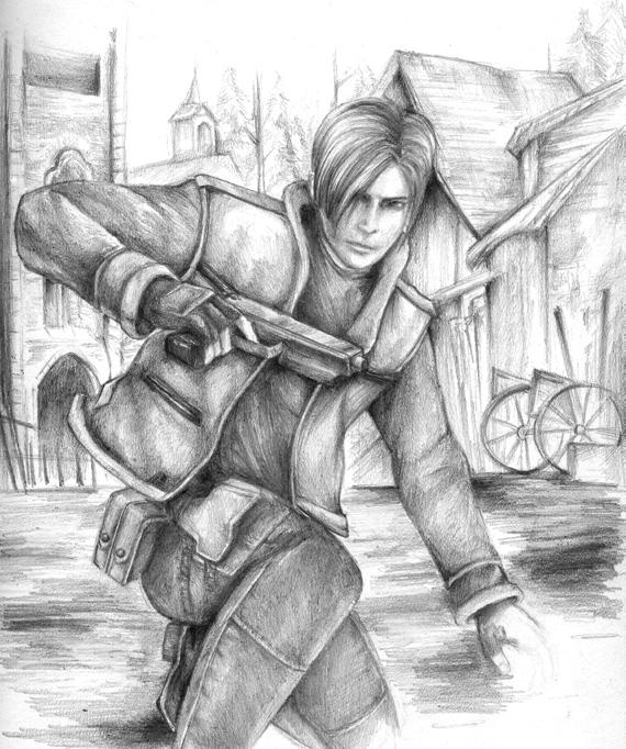 Leon Kennedy by Remiaru