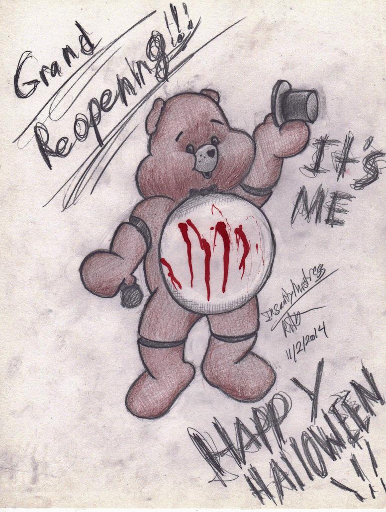 Freddy Carebear by InsanityMistress224