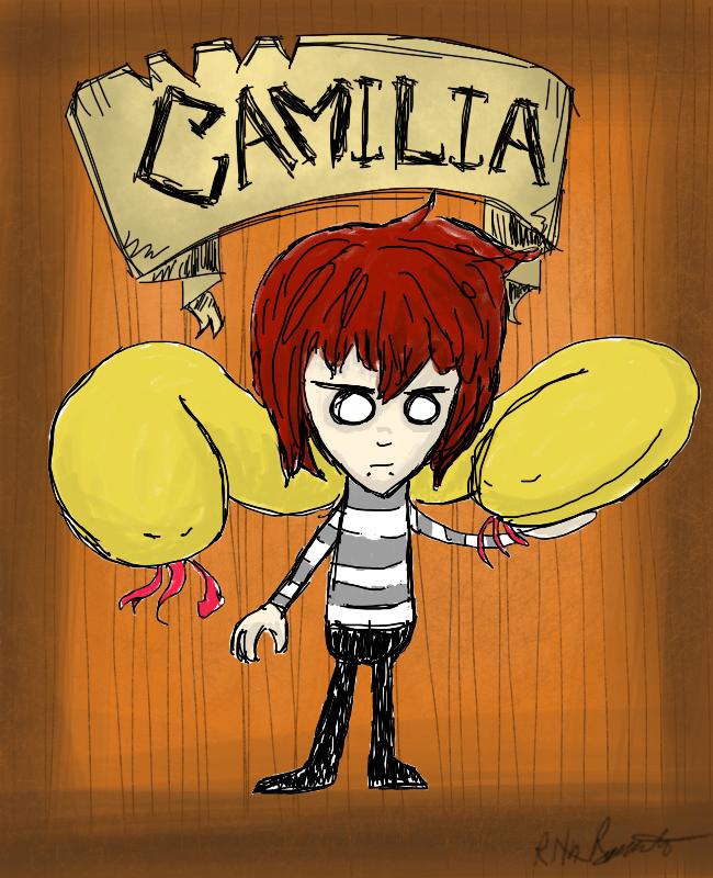 Don't Starve Camilia by InsanityMistress224