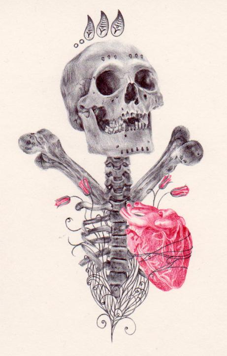 ballpoint pen drawing 3 by PaulAlexanderThornto