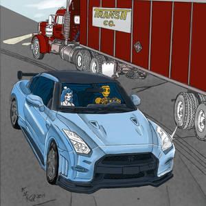 Art Collaboration 1: Nissan Nismo GT-R 35(color)