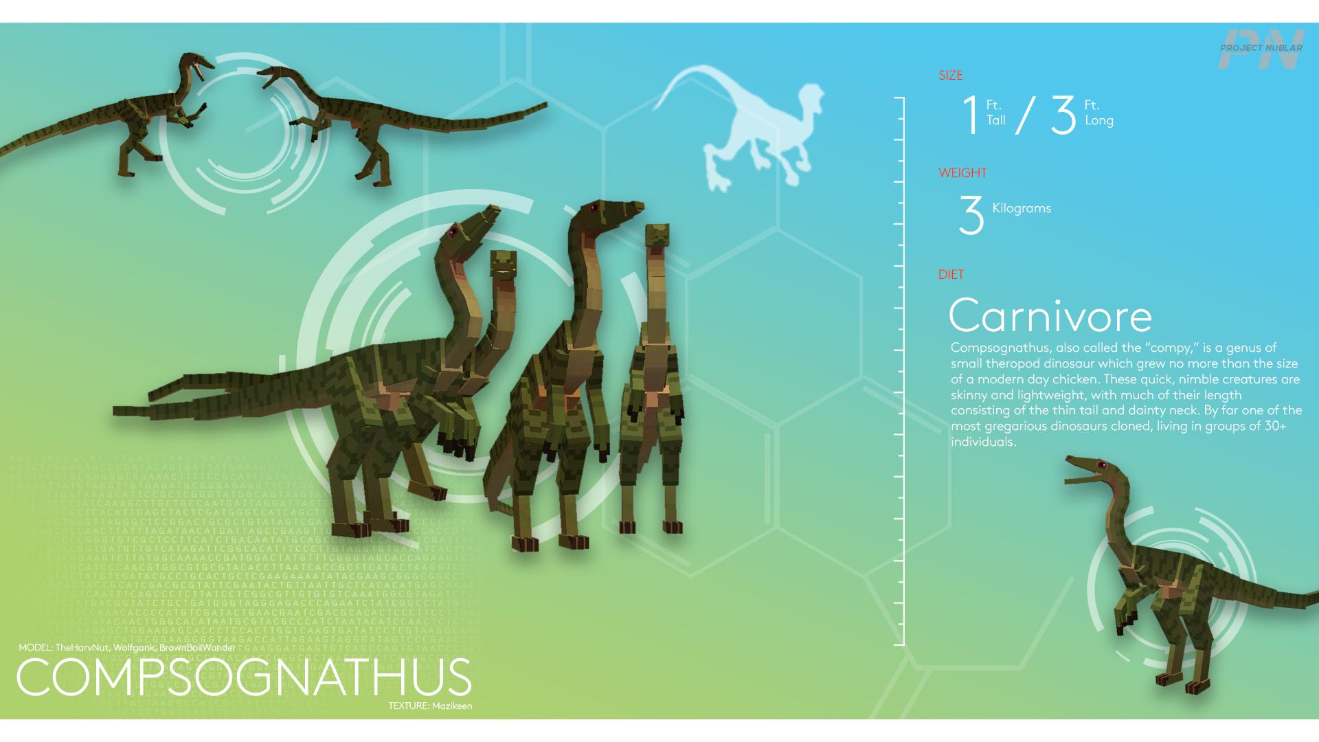 PROJECT: NUBLAR // Compsognathus