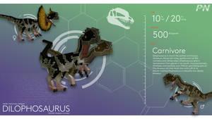 PROJECT: NUBLAR // Dilophosaurus