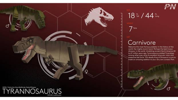 PROJECT: NUBLAR // Tyrannosaurus