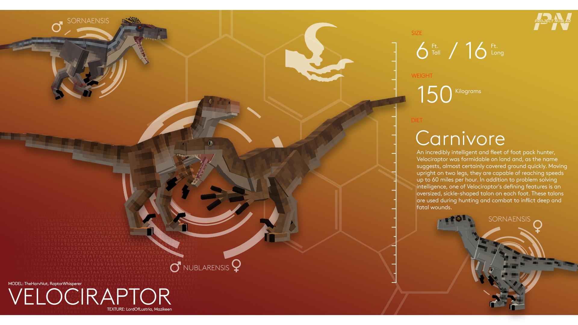 PROJECT: NUBLAR // Velociraptor