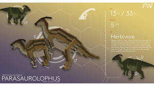 PROJECT: NUBLAR // Parasaurolophus