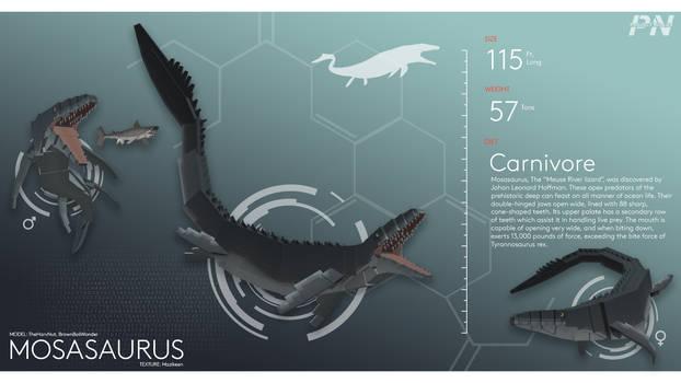 PROJECT: NUBLAR // Mosasaurus