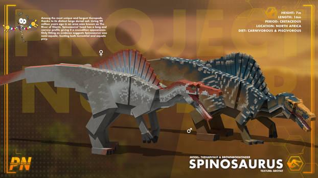 PROJECT: NUBLAR // Spinosaurus