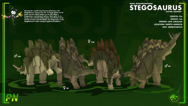 Project: Nublar//Stegosaurus TLW and JW