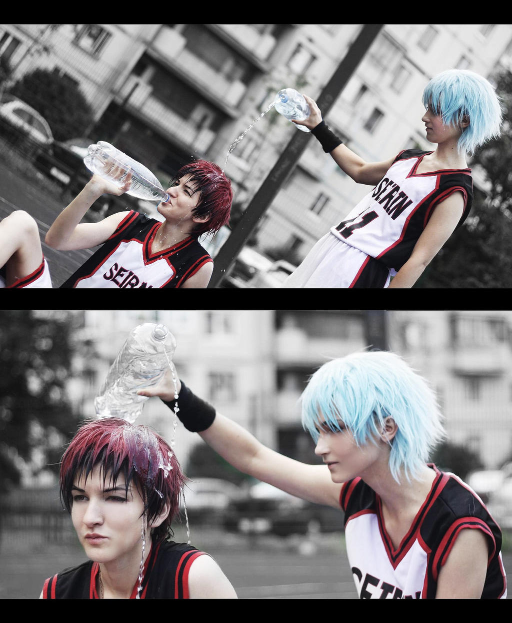 Kagami-kun, do you want water?