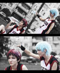 Kagami-kun, do you want water?