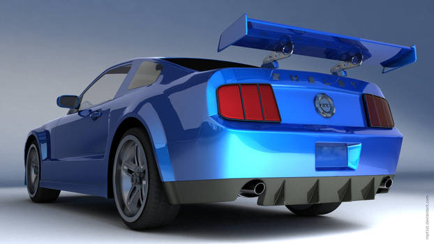 Ford Mustang Shelby GT Back