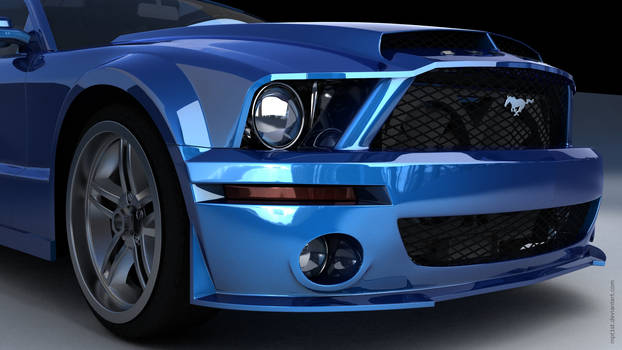 Ford Mustang Shelby GT Front
