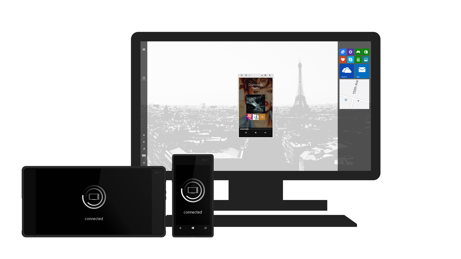Mobile Desktop for Windows Phone / RT by nik255