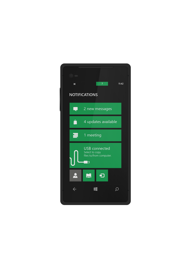 Notification Corner for Windows Phone by nik255