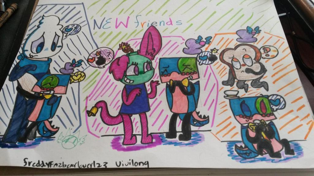 New Friends!!! by vivilong