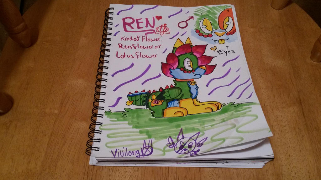 FloweyXKina Fan Child # 1: Ren by vivilong