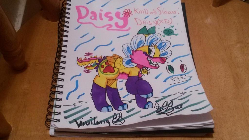 Flowey X Kina Fan Child #2:Daisy by vivilong