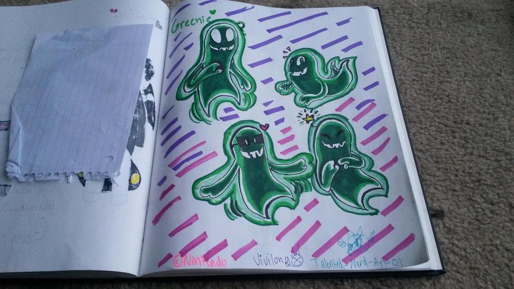 Greenie!  by vivilong