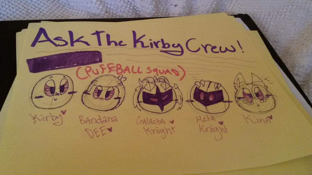 Ask The Kirby Crew by vivilong