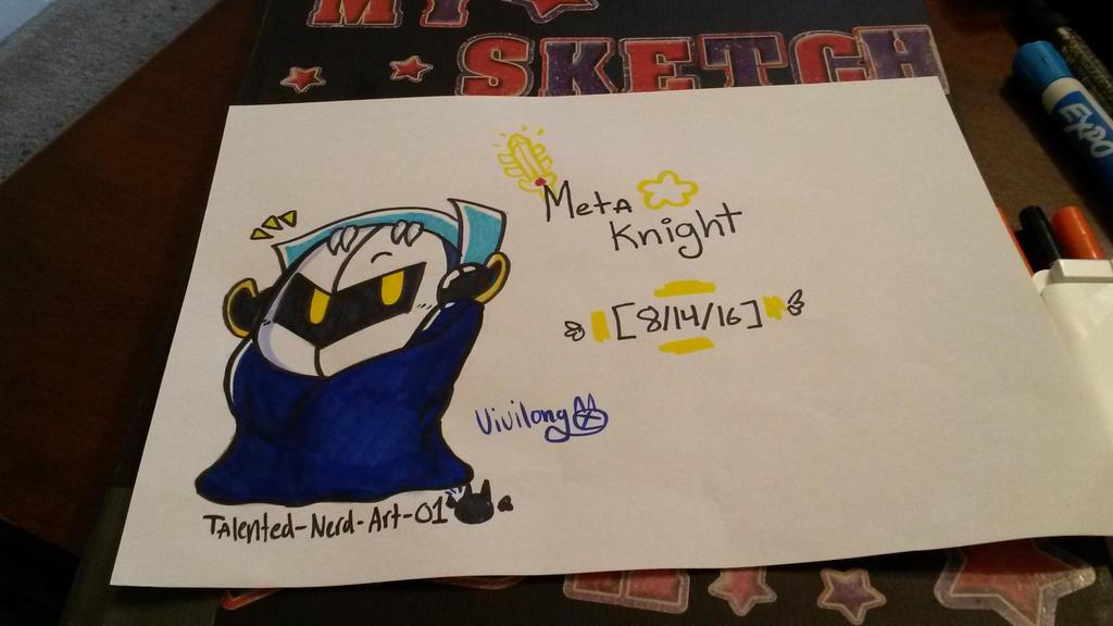 Meta Knight by vivilong