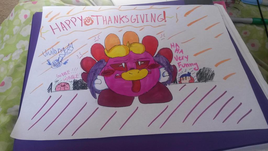 Happy Turkey Day by vivilong